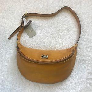 Pratesi Firenze Women's Brown Leather Fanny Pack
